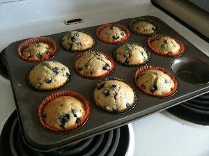 Chocolate and Blueberry Muffins Thumbnail