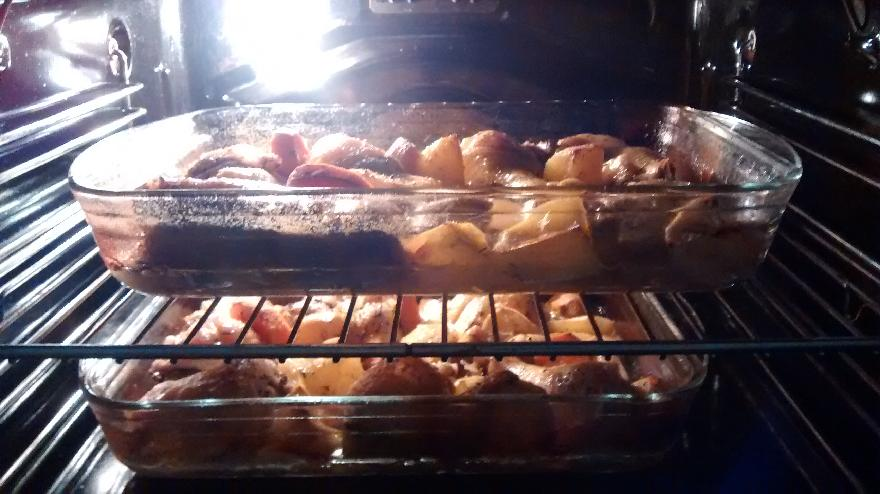 Roast Lemon & Garlic Chicken